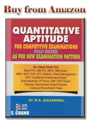 Rs Aggarwal Quantitative Aptitude Pdf In Hindi