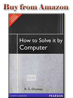 How to Solve it by Computer by R.G.Dromey